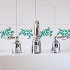CraftStar Turtle Stencil - Sea Themed Craft, Tile or Wall Decor Stencil