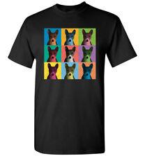 Basenji Vintage-Style Pop-Art T-Shirt Tee, Men's Women's Youth Tank Short Long