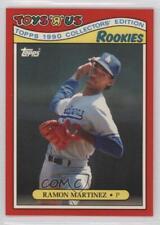 1990 Topps Toys R Us Rookies Box Set Base #19 Ramon Martinez Los Angeles Dodgers