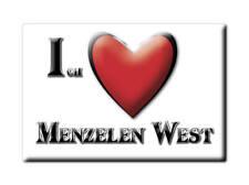 DEUTSCHLAND SOUVENIR - NORDRHEIN WESTFALEN MAGNET MENZELEN WEST (WESEL)