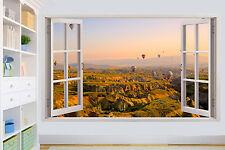 Globo de aire paseo en valles Pared Adhesivo Calcomanía Mural Decoración De Habitación