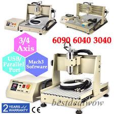 USB 3/4 Achse 3040/6040/3020 Router Graviermaschine Fräsmaschine Metal Engraver