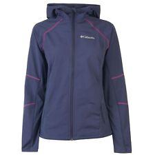 Columbia Womens Sweet Softshell Jacket Coat Top Long Sleeve Lightweight Hooded