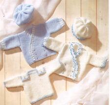 "EASY intersecano BABY GIUBBOTTI BERRETTI & SWEATER DK 12 "" - 18"" knitting pattern"