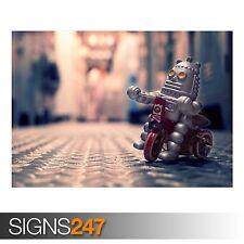 Juguete Robot (AD591) Gracioso Poster-FOTOS arte cartel impresión A0 A1 A2 A3 A4
