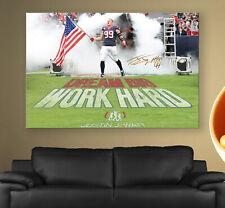JJ Watt Flag Poster or Canvas