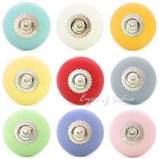 placard céramique commode porte poignées boutons décorative shabby chic Colorfu