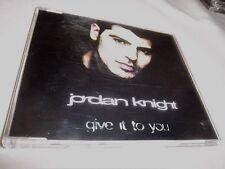JORDAN KNIGHT-GIVE IT TO YOU 4 MIXES INTERSCOPE 497 090-2 GERMAN MINT CD
