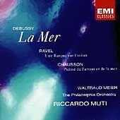 La Mer / Un Barque Sur L'Ocean/Poeme de l'Amour et.... by Claude Debussy, Mauri
