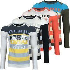 RUSTY NEAL Herren Langarm Longsleeve T-Shirt Longshirt Sweatshirt Pulli RN-353
