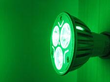 Lampada LED GU10 3W 3X1W 220V Colore Verde Green