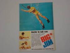 advertising Pubblicità 1973 BIG JIM MATTEL