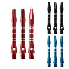 3pcs Aluminium Alloy Dart Shafts Darts Accessories Metal Alloy Rod Pole Ste N0M5