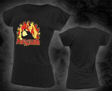 Nasum - cog fire worker, Girlie Shirt, Größe M und L, NEU, misery index