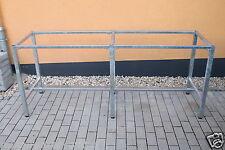 Werkbankgestell Typ B mit 6 Füssen verzinkt Tisch Gestell Arbeitstisch Werkbank
