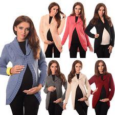 Purpless maternidad cierre de botón Sweater Cardigan Talla 8 10 12 14 16 18 9004