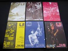 KISS L.F. Vol. 145 - 150 Japan Fanzine Book in 2005 Lot LF