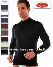 Maglia uomo Liabel manica lunga con collo a lupetto in misto lana art 5149-163