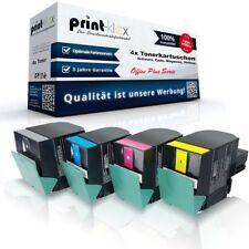 4x Alternative Tonerkartuschen für Lexmark C540 Farb Set XL - Office Plus Serie