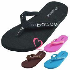 Women Summer Light Weight Thong Flip Flops Slip On Beach Sandal Slipper Shoes