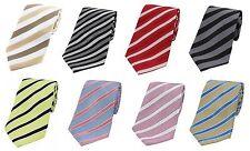 Classic Polyester Stripe Men's Ties