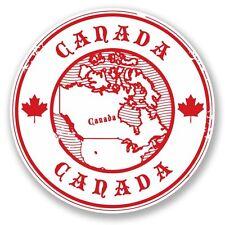 2 x Canada Vinyl Sticker Laptop Travel Luggage #4582