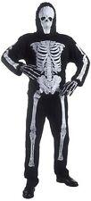 SKELETT Kinderkostüm für Fasching & Karneval Skeleton Gr. 98 - 158 für Kinder
