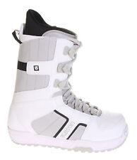 BURTON INVADER white/black men's boots scarponi da snowboard uomo