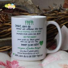 Tasse / PAPA, Danke -wir/ Geschenk Muttertag Weihnachten