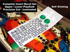 BLACK KNIGHT Machine Pinball Insert Decals LICENSED