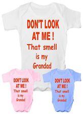 Ne pas me regarder drôle babygrow vest bébés cadeau garçon fille baby clothing