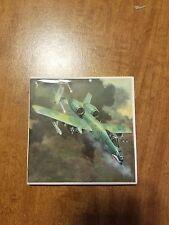 Military Aircraft 4x4 Ceramic Coasters Handmade