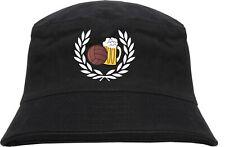 Lorbeerkranz fútbol cerveza sombrero-bordadas-bucket ha Angler sombrero
