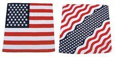 BANDANA Tuch - Halstuch Kopftuch Schal / Flagge USA oder Stars and Stripes neu