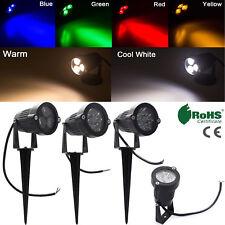 Waterproof LED Flood Light Spotlight Bulb 9W 12W 15W Landscape Garden Yard Lamp