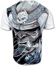 Samurai T-Shirt Ronin Affliction Swag Style Premium Luxus Herren Tops T Shirts