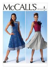 McCalls Pattern M7048 Ms Close-Fit Top~Dress & Lined Skirt- All w/Princess Seams