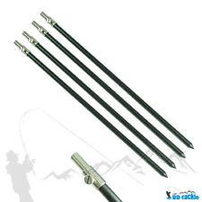 1-4 Stück Set ALU Bank Stick 50-90cm Bankstick Rutenhalter Rutenauflage Rod Pod