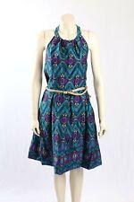 NEW Jessica Howard -Size 14- blue stretch cotton dress-RRP: $140.00
