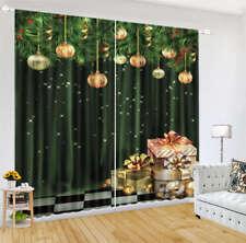 Hanging Lanterns Woods 3D Curtain Blockout Photo Printing Curtains Drape Fabric