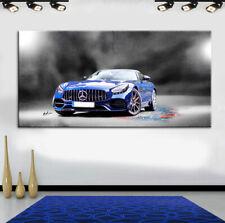 Mercedes AMG Pamorama Leinwandbild AK ART Kunstdruck Mehrfarbig Wandbild TOP XXL