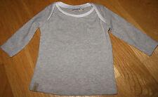 Imps & Elfs Baby Boy Girl T-shirt Top 50 cm Neonato Nuovo Designer Grigio Organic