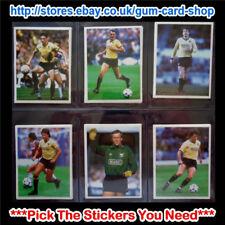 ☆ DAILY MIRROR 1986-87 bastone con calcio (Oxford United) * selezionare gli adesivi *