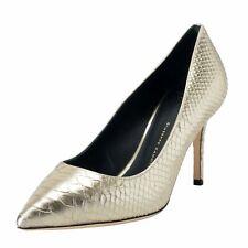 131883ce25a Giuseppe Zanotti Design Women s Python Skin Silver High Heels Pumps Shoes