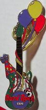 Hard Rock Cafe HAPPY BIRTHDAY Balloons GREEN Guitar PIN - HRC Catalog #3635