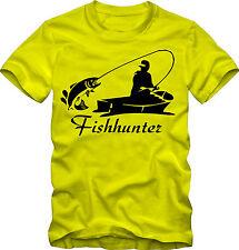 Fishhunter t-shirt Angler camisa t-shirt para Angler angel Shirt