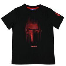 Adidas Originals Star Wars Villain Kids Camiseta Kylo Ren Tee Ben Solo Negro