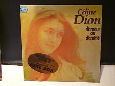 CELINE DION D amour ou d amitié 2C008 72653 avec sticker JUKE BOX