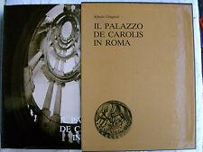 PALAZZO DE CAROLIS IN ROMA A.GIUGGIOLI BANCO DI ROMA 1980