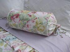 NEW Custom Ralph Lauren Shelter Island Pastels Neckroll Pillow Neck Roll